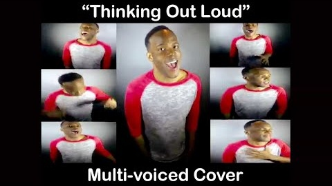 Marcellus Long performing a multi-voiced cover of 'Thinking Out Loud' by Ed Sheeran.