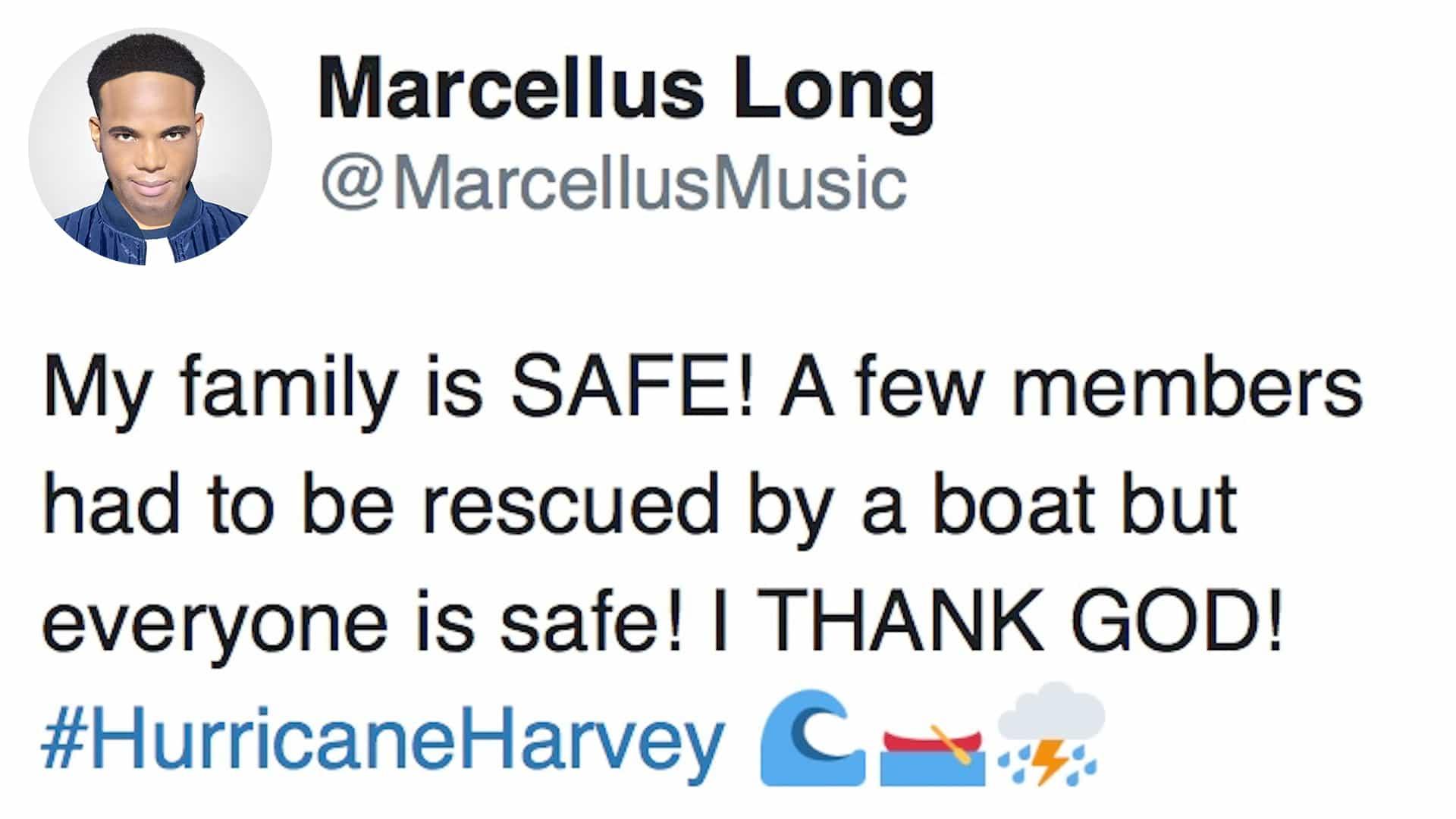 Hurricane Harvey update.