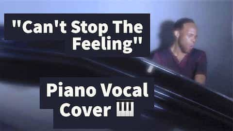 Marcellus Long sings and plays the piano for a cover of a Justin Timberlake song.