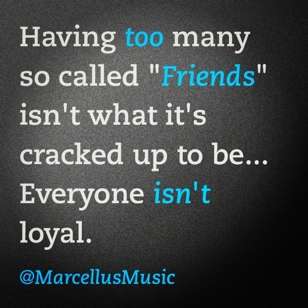 Image of quote about friends