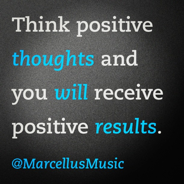 Image of quote about positive thinking
