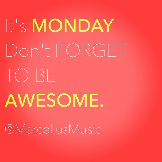Quote image about Mondays